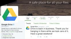 Google-Speicherdienste ausgefallen