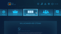 SteamOS Big Picture Modus