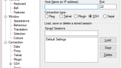 SSH-Client PuTTY in Version 0.66