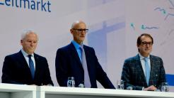 Rüdiger Grube, Timotheus Höttges, Alexander Dobrindt (v.l.)