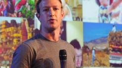 Mark Zuckerberg in Indien