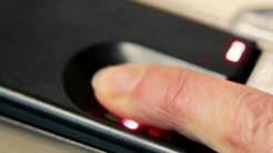 Finger statt PIN