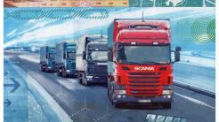 MWC 2016: Ericsson und Scania wollen Lkw-Kolonnen vernetzen