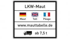 Bundesregierung: Lkw-Maut ab 1. Juli 2018 auf allen Bundesstraßen