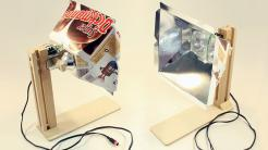 LED Fotoleuchten aus Schokokuss-Verpackungen