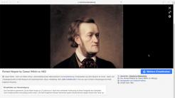 Richard Wagner auf Wikimedia