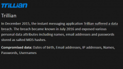Trillian-Server gehackt, Millionen Nutzerdaten abgegriffen