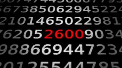 Zahlen, bitte! 2600 Hz – die Frequenz, die das Hacking begründete.