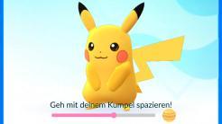 Pokémon Go: Update mit Kumpel