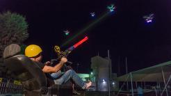 Space Invaders mit Drohnen