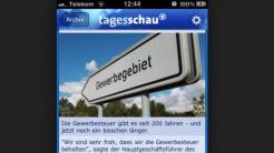 """Gericht urteilt im Streit über """"Tagesschau""""-App zugunsten der Verlage"""