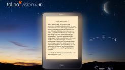 Tolino vision 4 HD: E-Reader mit Biorhythmus