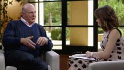 Ex-Microsoft-Chef Steve Ballmer im Bloomberg TV