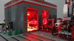 Legomaschine: Jetzt vollautomatisch und mit Lasereinheit