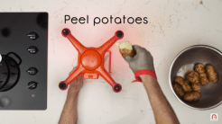 Thanksgiving: Kochen mit der Drohne