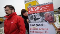Gewerkschaftsprotest gegen Amazon