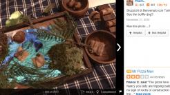 Trüffel auf Teller zu profan – lieber auf dem iPad serviert