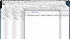 Support-Scam mit Mail-App