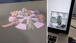 Monster-Schach mit der Hololamp