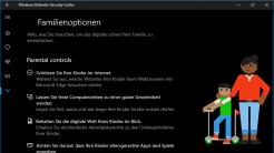 Windows 10 Creators Update: Sicherheitscenter, reloaded