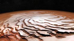 ESA-Sonde Mars Express: Neue Bilder vom Mars zeigen eisige Spirale