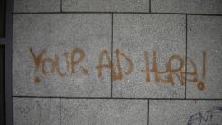 "Graffiti ""Your Ad Here!"""