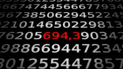 Zahlen, bitte! 694,3 Nanometer