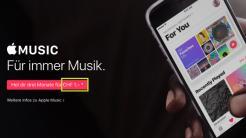Apple Music: Keine Freimonate mehr in der Schweiz