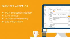 Mail-Programm eM Client mit integrierter PGP-Verschlüsselung