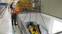 Enrich: Wenn die Brennelemente im Kernreaktor zerbrechen, schlägt die Stunde der Roboter