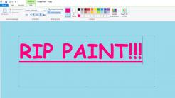 Windows 10: Langsamer Abschied von MS Paint