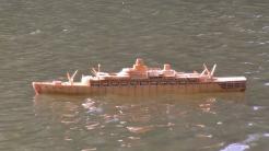 Schiffsmodelle aus Streichhölzern