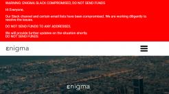 Kryptowährung: Enigma-Projekt gehackt, Etherum im Wert von 475.000 US-Dollar erbeutet