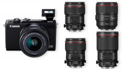 Canon zeigt spiegellose Systemkamera EOS M100 und vier neue L-Objektive