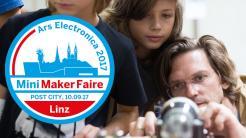 Maker auf der ars electronica: Mini Maker Faire Linz