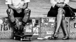 Monochrom bleibt zeitlos modern: Die Bilder der 35. Kalenderwoche