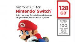 Nintendo Switch: 64 und 128 GByte große Speicherkarten ab Oktober