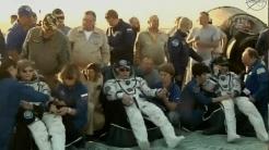 Sichere Rückkehr von drei  ISS-Astro/Kosmonauten - trotz Harvey