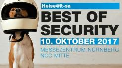 """Heise@it-sa: Best of Security"""