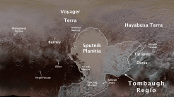 NASA-Sonde New Horizons: Pluto-Landschaften erhalten offizielle Namen