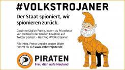 """Social-Media-Aktion """"#Volkstrojaner"""""""