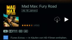 4K-Filme auf iTunes: Knapp 50 Filme bereits verfügbar