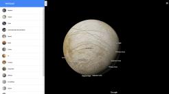 Google Maps kennt jetzt auch Planeten und Monde im Sonnensystem