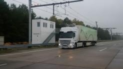 eHighway: Bauarbeiten für Oberleitungen an hessischer Autobahn beginnen