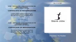 """Modemarke """"Steve Jobs"""" in Italien erlaubt"""