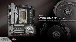 Asrock X399M Taichi: Erstes Micro-ATX-Mainboard für High-End-Prozessoren AMD Ryzen Threadripper