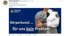 Beriner Polizei-Chef verteidigt Twitter-Auftritt