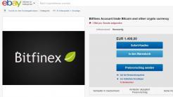 Aufnahmestopp bei Kryptogeldbörsen – Accounts werden auf Ebay gehandelt