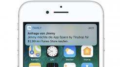 Kaufanfrage iPhone