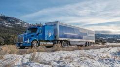 Truck durchquert teilautonom die USA